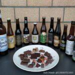 le dodici birre con cui ho creato dieci abbinamenti birra e cioccolato.